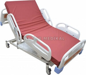 Full Abs Asansörlü 4 Motorlu Hasta Yatağı